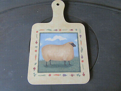 Cloverleaf Farm Animal Small Chopping Board • 2.95£