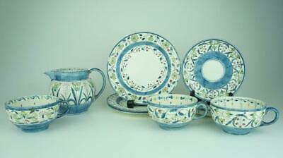 Rare Wedgewood, Breakfast Set, Hand Painted, Signed CRLM, C1925 Art Deco • 9.99£