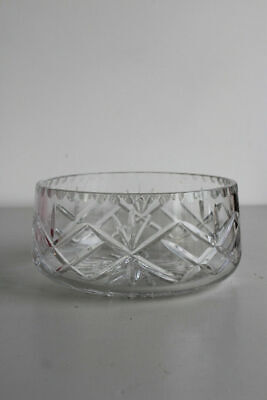 Vintage Crystal Fruit Centre Decorative Quality Bowl • 40£