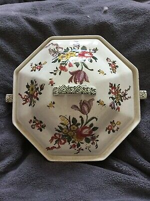 Old Leeds Sprays Royal Doulton Vegetable Dish With Lid • 5£
