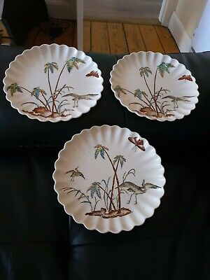 Antique Aesthetic Copeland Spode Cake Stand & 2 Matching Plates C1885  • 49.99£