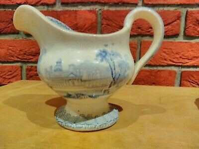 Antique Blue And White Gravy Boat Maker Unknown • 1.99£