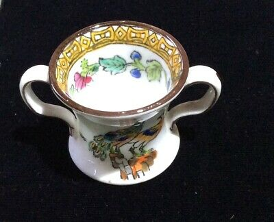 Spode Copeland China Miniature Hand Painted Loving Cup • 6.50£