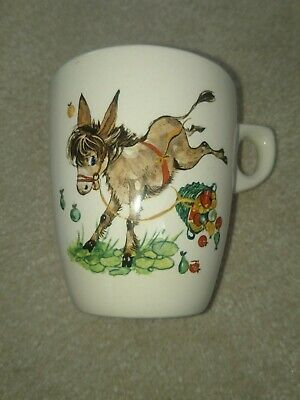 Rare Vintage Child's Lord Nelson Ware Pottery Donkey Mug • 3.40£