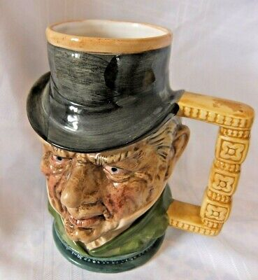 A Large Unmarked Toby Jug, , Good Condition For Age • 4.99£
