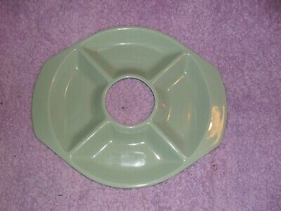 Poole Pottery, Oval 4 Section Serving Dish. 38 X 33cm • 2.50£