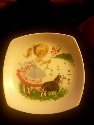 Vintage Midwinter Little Bo Peep Dish • 2£