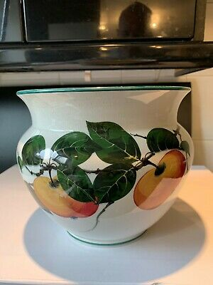 Rare Wemyss Ware For Soane & Smith London Bowl  - Painted With Apples / Peaches • 70£