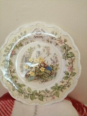 Brambly Hedge Plate Spring (Medium) • 2.20£