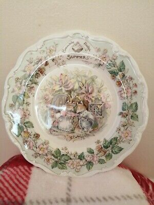 Brambly Hedge Plate Summer (Medium) • 2.20£
