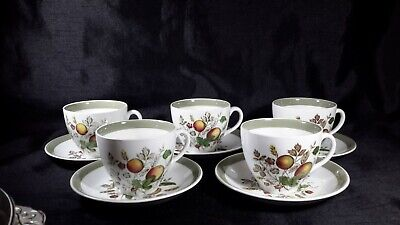 Alfred Meakin Staffordshire Hereford Cup And Saucer X 5 • 14.99£