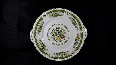 Royal Stafford China Dovedale Floral Tabbed Cake Plate • 9.99£
