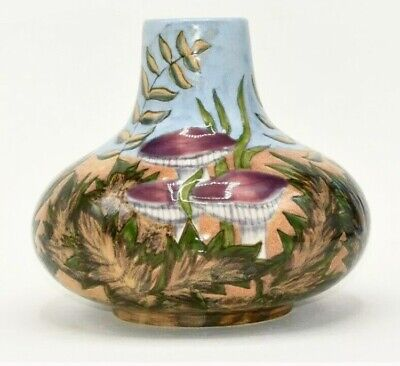 Cobridge Stoneware Autumn's Dawn Large Vase Debbie Hancock ~ First Quality 1999 • 115£