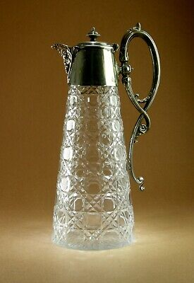 Victorian Silver Plated Claret Jug  • 65£