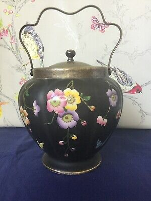 Rare Royal Sydney Ware W Lowe  Biscuit Barrel  C1915 • 74.95£