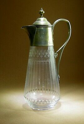 Unusual Antique Glass Claret Jug With A Patented Pouring System • 39.99£