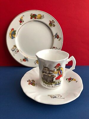 **selection Of Sweet Children's Pottery - China Cup & Saucer & Small Plate** • 7.99£