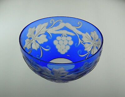 Stevens And Williams Intaglio Engraved Glass Bowl 1920's • 34.99£