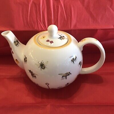 Busy Bee China Teapot Capacity 6cup Part Of The Leonardo Collection • 17.99£