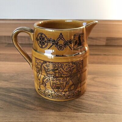 Isle Of Wight Lord Nelson Ware Pottery Jug • 6.99£