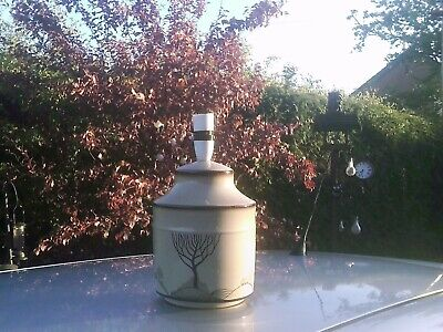 RARE Vintage Denby Table Lamp - Denby Pottery - Table Lamp • 55£