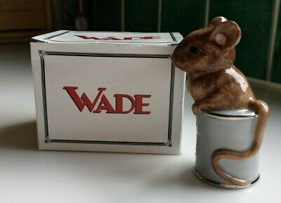 Wade Collectors Club  Tinnie  Mouse In Tin Boxed Perfect Condition • 8£