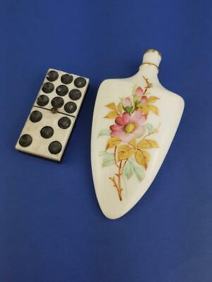 Rare Royal Worcester Miniature Lay Down Perfume, Scent Bottle • 190£