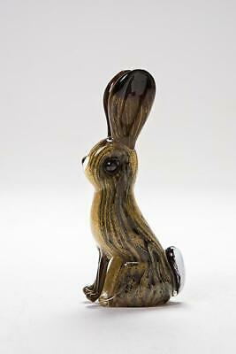 Langham Glass Handmade Crystal Hare New Boxed • 53.95£