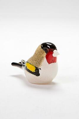 Langham Glass Handmade Crystal Goldfinch New Boxed Factory Grade • 43.95£