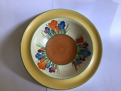 Clarice Cliff Autumn Crocus Cereal Bowl • 7£