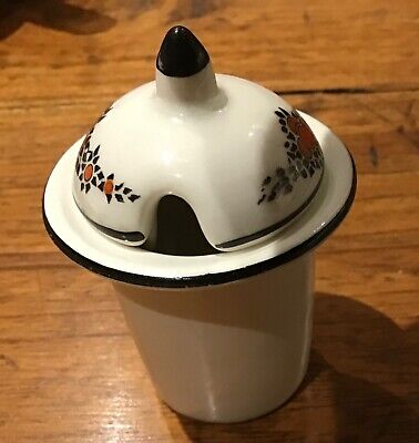 "Crown Ducal ""Orange Tree"" Mustard Pot From Condiment / Cruet Set Hand Painted • 3£"