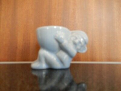 Hornsea Pottery. Early Gnome Egg Cup. Blue. 1952.  • 10£