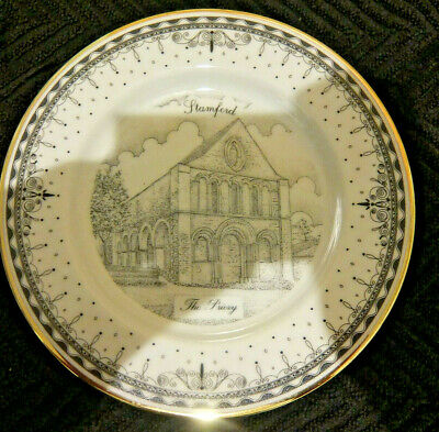 Vintage & Pretty, The Priory Stamford Limited Edition 1998 Plate, Good Condtion • 2.99£