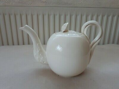 Leeds Ware China Teapot Classical Creamware  Very Good Cond. • 30£
