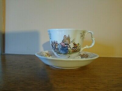 Royal Doulton Brambly Hedge The Birthday Teacup And Saucer • 10.49£