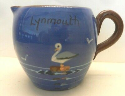 Lynmouth   St Marychurch  Pottery  JUG  Seagull • 15£