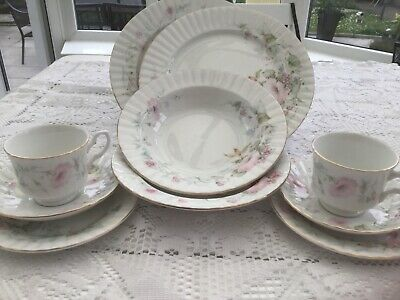 Royal Stafford  Vintage China 10 Piece Tea And Dinner Set For 2 • 20£