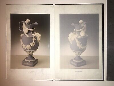 """Very Rare Wedgwood Hardback Booklet Featuring """"A Pair Of Wine And Water Evers"""" • 29.95£"""