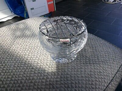 """Stunning Royal Brierley Crystal Rose Post Bowl  Excellent Condition """"151"""" • 14.99£"""