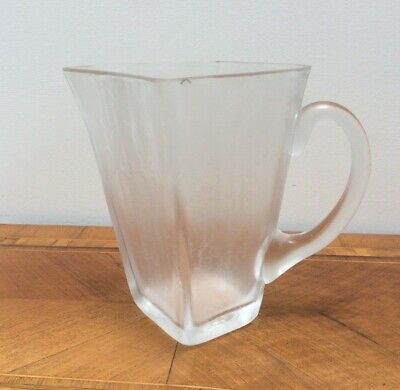 Very,very Rare Orrefors Vicke Lindstrand Isat   Iced  Range Jug_ Great Design. • 95£