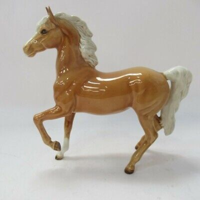 Vintage Beswick England Collectable Horse Figurine Ornament Light Brown 7inch • 9.99£