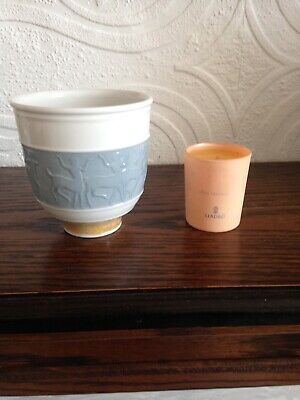 Lladro Privilege Gold Candle Holder And Candle. • 12.99£