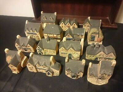 Rare Collectable Job-lot Of 15 Philip Laureston Torquay Pottery Minature Houses • 29£
