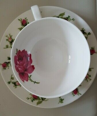 Laura Ashley Hand Decorated Flower Cup And Saucer  • 3.50£