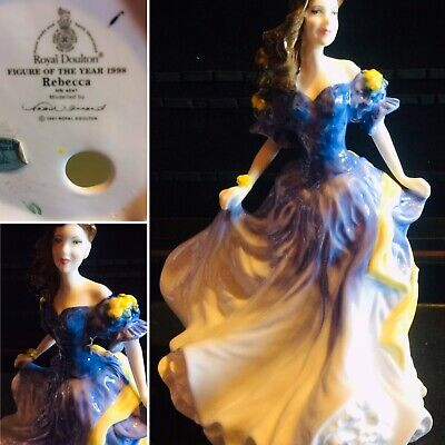 """Sweet Vintage 1998 Royal Doulton Figurine Hn4041 """" Rebecca """" By Valerie Annand. • 16£"""