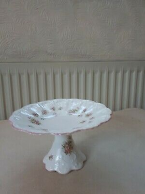 Queens China Cake Stand Tazza. 18cms Diameter. 10.5cms Tall. Good Cond. • 10£