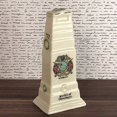 Arcadian Crested Ware Model Of Cenotaph Wembley • 7.50£
