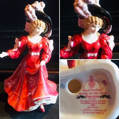 """Sweet Vintage 1993 Royal Doulton Figurine Hn3365"""" Patricia"""" By Valerie Annand • 1£"""