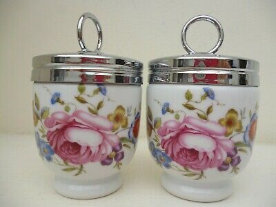 Royal Worcester Pair Of Egg Coddlers Bournemouth Standard  Size   • 6.99£