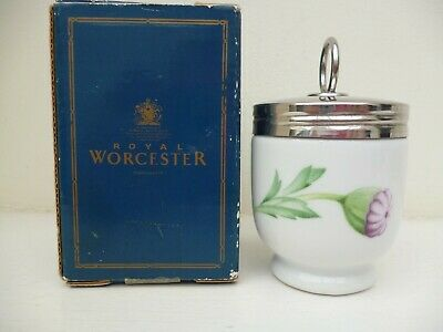 Royal Worcester Egg Coddler Poppies Standard  Size  Boxed Rare Design • 6.99£
